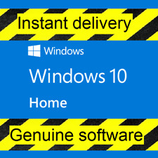Microsoft Windows 10 Home ✯Vollversion ✯AKTION ✯32 & 64Bit ✯Product-Key ✯Lizenz