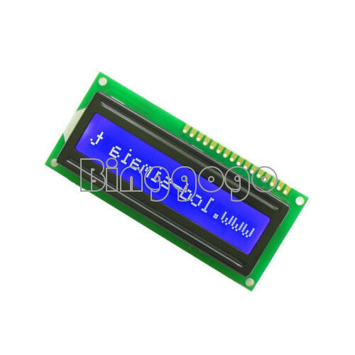 1Stks Blue Blacklight 1601 16x1 Character LCD Display Module For Arduino