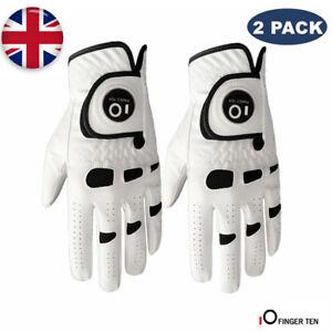 Men-Golf-Gloves-Left-Hand-Right-Leather-Value-2-Pack-with-Ball-Marker-Gloves-UK