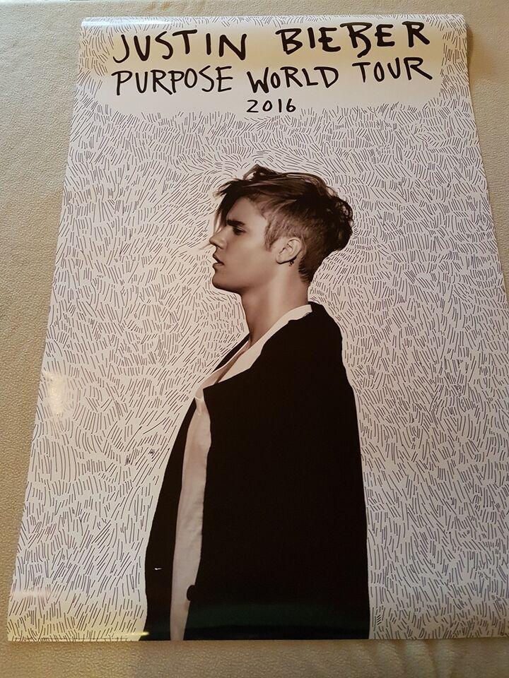 Skinner til ophængning - Justin Bieber
