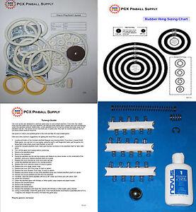 1977 Stern Disco pinball rubber ring kit