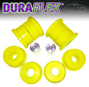 BMW-E36-REAR-SUBFRAME-BUSHES-Trailing-Arm-DURAFLEX-EXTREME-Yellow-Polyurethane