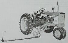 Ih International Harvester 115 Mid Mount Balanced Head Sickle Mower Manual