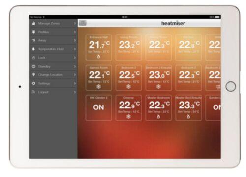Heatmiser neohub Gen 2 NEO sistema Gateway di controllare le tue statistiche Neo con l/'app!