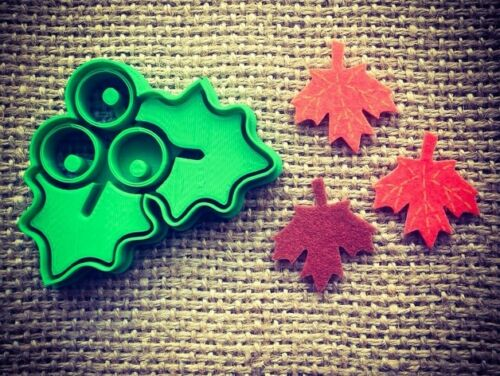 Mistletoe Cookie Pastry Biscuit Cutter Icing Fondant  Kitchen Xmas Christmas Fun