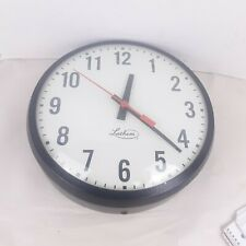 Vintage Lathem Office School Hospital Factory Slave Clock