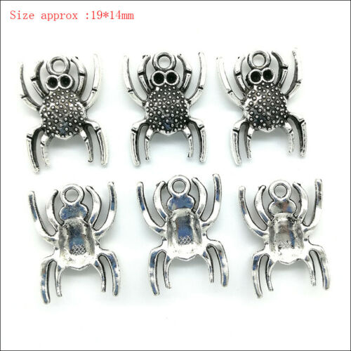 Antique Silver Charms Pendants For Earrings Necklace Bracelet Jewelry Making DIY