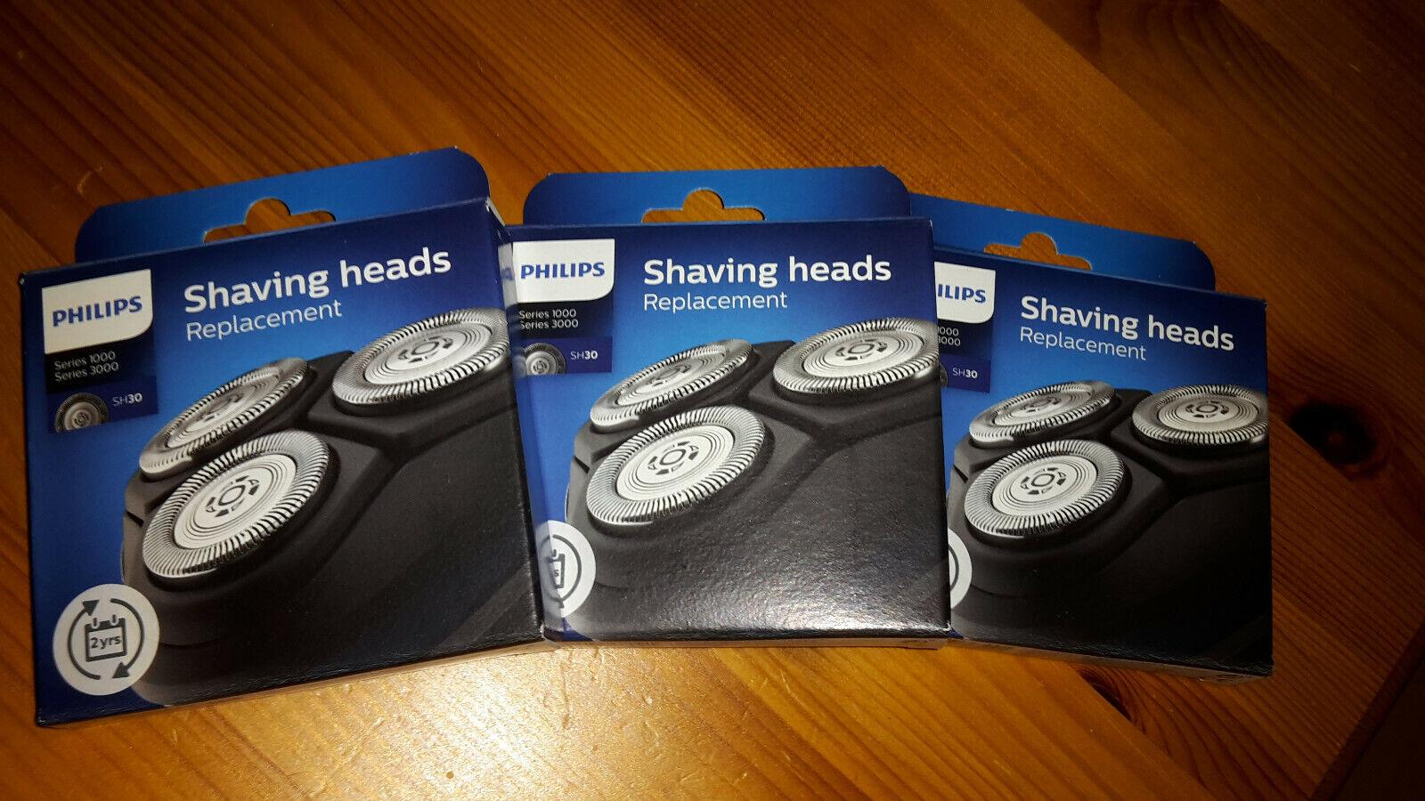 Philips Shaver Series 3000 Scherköpfe Sh30 50