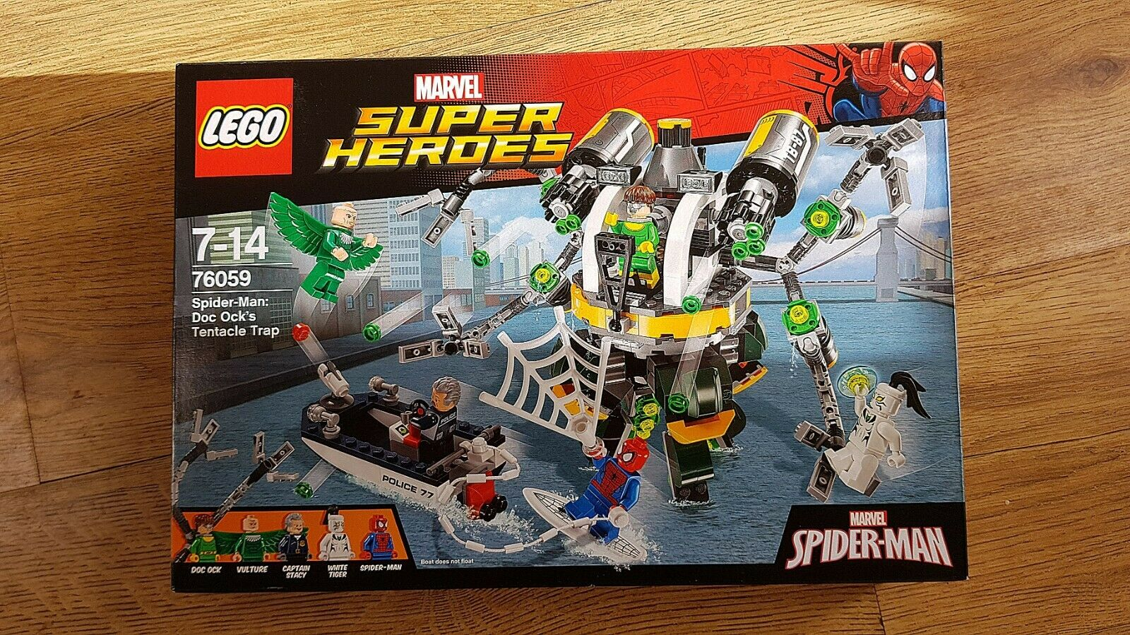 LEGO Marvel 76059 Spider-Man  Doc Ock's Ock's Ock's Tentacle Trap   New Unopened Great 2b8c40