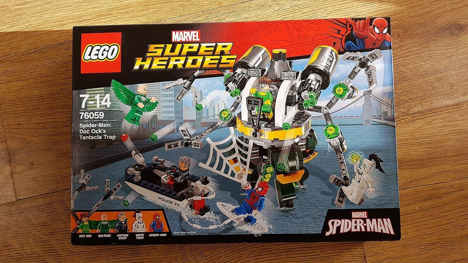 LEGO MARVEL 76059  SPIDER-uomo  DOC OCCA'S Tentacolo Trappola   nuovi, non aperto, perfetto   garantito