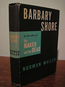 1st-Edition-BARBARY-SHORE-Norman-Mailer-FICTION-2nd-Printing-NOVEL-Classic