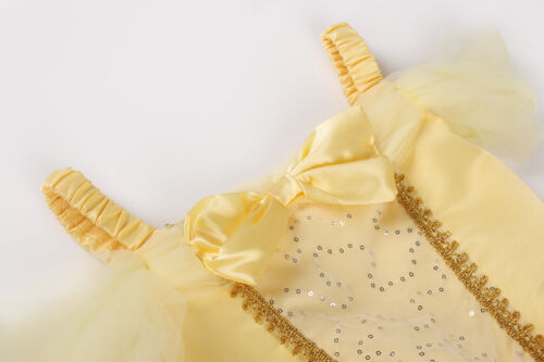 Princess Belle   Dress Up Kids Girls Fancy Party Costume Cosplay Tutu