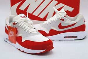 Details about VNDS (3.26) Nike Air Max 1 Ultra 2.0 LE White/University Red Rare Retro sz 10