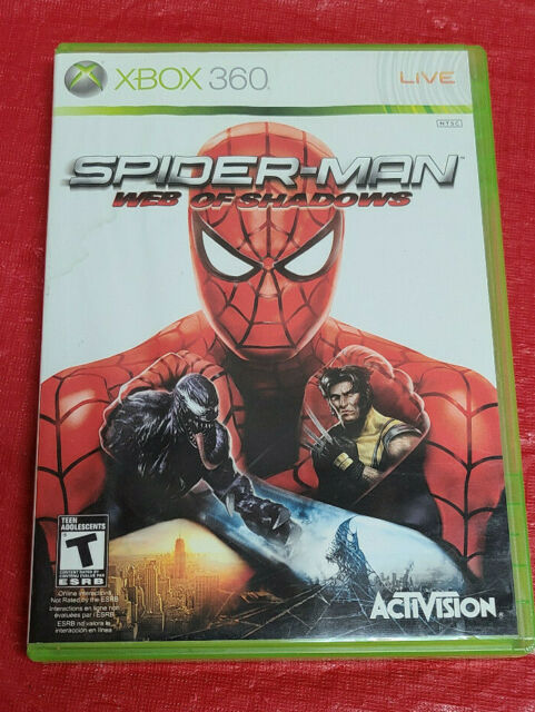 Spider-Man: Web of Shadows (Microsoft Xbox 360, 2008)