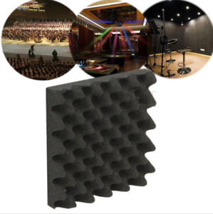 50x50CM Studio Acoustic Absorption Foam Sound Noise Insulation Panel Tile KTV