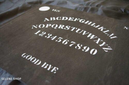 Varie Tavola Ouija Board Per Sedute Spiritiche Legno Nera Artigianale Con Planchette Elo Vom Fuchsberg