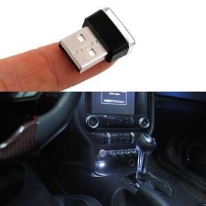 Image Is Loading Hid White Usb Plug In Miniature Led Extra