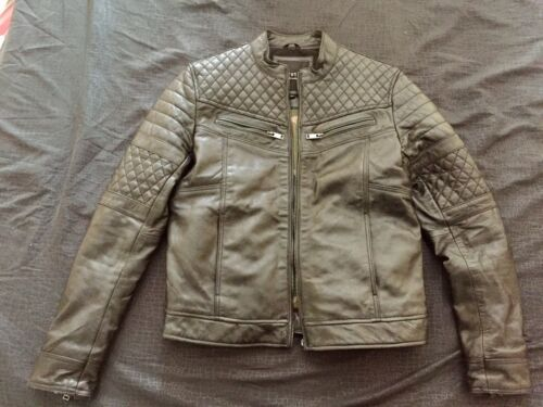 Leather Cuir Veste Noire Chyston Jacket OASqpRw