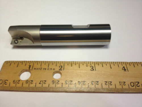 Indexable End Mill L-4in 0.750in 2-Flute CNC APKT FITS Haas Mori Mazak