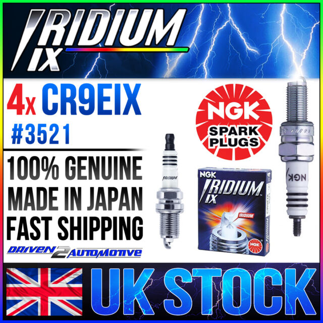 4 x NGK Iridium Spark Plug CR9EIX TRIUMPH GSX-R1000 WHOLESALE PRICE ON SALE!