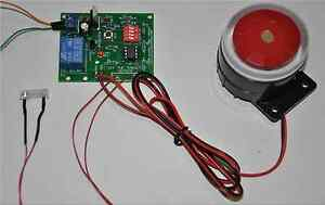 Paintball-airsoft-vibration-based-target-practice-module-AC-adapter-amp-siren
