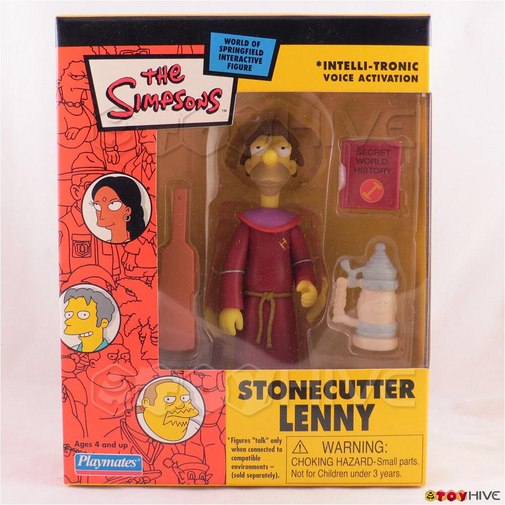 Los Simpsons Cantero Lenny 2003 exclusivo de correo-lejos figura de acción Jugarmates