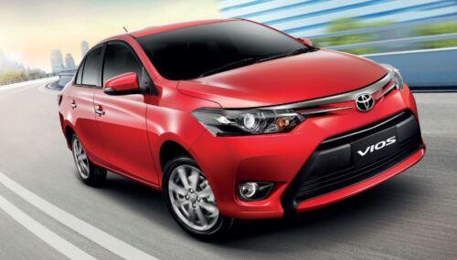 Brake Light For Toyota Vios Belta Yaris Sedan 13 14 16 17 Rear Spoiler Painted