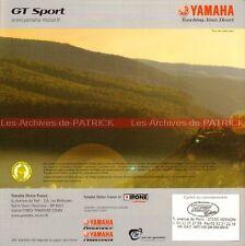 YAMAHA FJR 1300 A ; FJR 1300 ; TDM 900 2004 : Brochure - Dépliant - Moto  #0055#