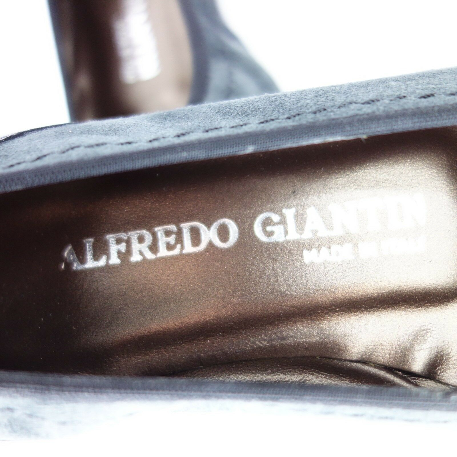 Alfredo Giantin Ladies Boots Ballerinas Leather Leather Leather Suede Size 36 round Np 139 New 5fe25e