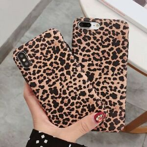 Fashion-Sexy-Leopard-Prain-Case-For-iPhone-6s-7-8-XS-11-Pro-Max-Women-for-girls