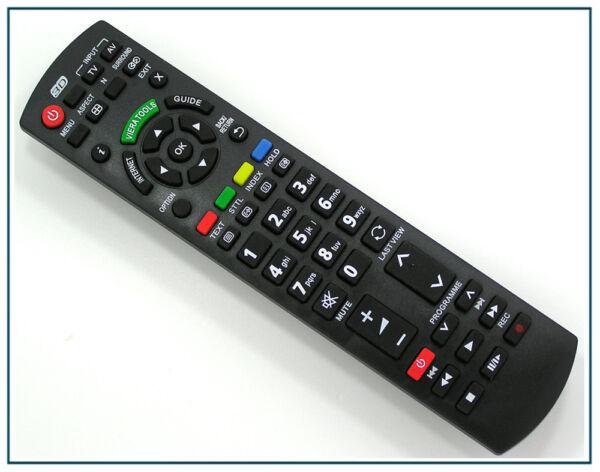Brillant Télécommande De Remplacement Pour Panasonic Tv Tx-l42etw50 Txp65vt50b