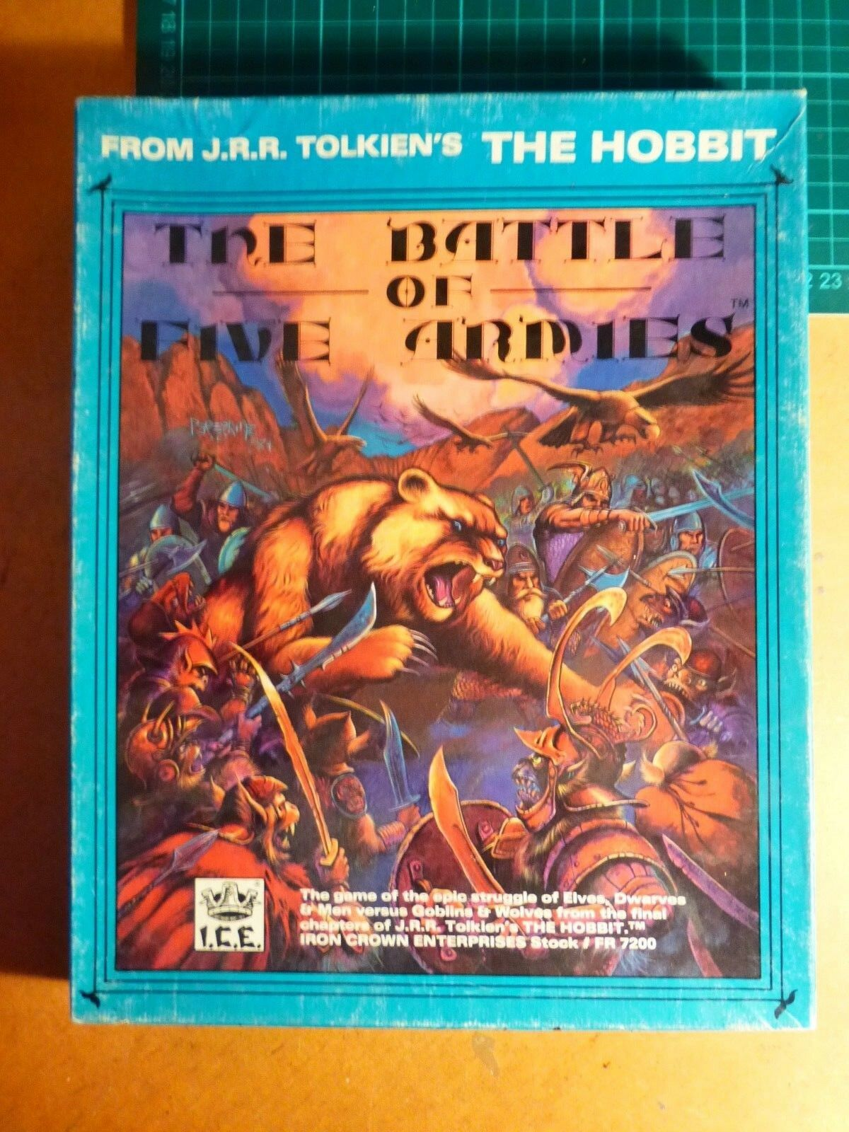 The Battle of Five Armies by I.C.E. (COMPLETE) Middle Earth  Hobbit LOTR Tolkien