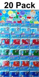 20x Seven Color Crystal Boll Bio Soil Ball Pfanzenerde Chambre Plantes Boule Deco-afficher Le Titre D'origine Un Enrichit Et Nutritif Pour Le Foie Et Les Rein