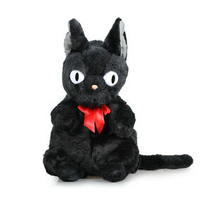 Details About 50CM Black Cat Jiji Kikis Delivery Service Backpack Plush Bag For Birthday Gift