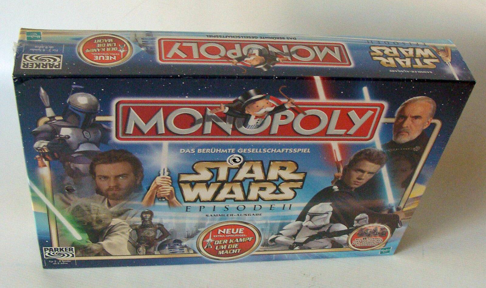 Monopoly Star Wars - Episode II Für 2-8 Spieler Hasbro Hasbro Hasbro 8+ - Neu c93c68