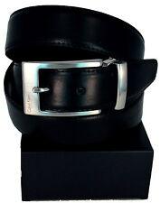 Cinture Calvin Klein Uomo Nero/Marrone Tg 110/125