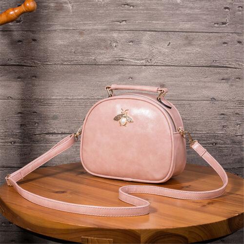 Golden Bee Oval Zippers Women/'s Shoulder Small Bags Cross Body Tote Handbag