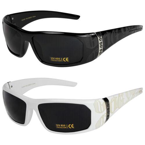 2er Pack Locs 2003 Choppers Sonnenbrille Brille Männer Frauen Herren schwarz