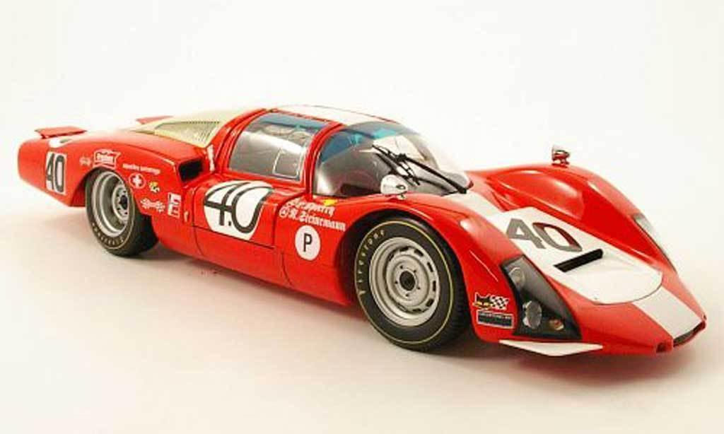 1:18 Minichamps Porsche 906 LH 24h Sebring 1967 - Squadratartaruga  40