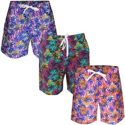 Soulstar Hawaiian Summer Swimming Shorts Mens Size