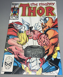 Thor #338 Marvel 2nd App Appearance Beta Ray Bill 1983