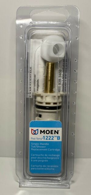 Moen Genuine Part 1222 B POSI-TEMP Cartridge Single Handle Faucets Plastic Bag