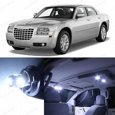 14 x Xenon White LED Interior Lights Package Kit For 2005-2010 Chrysler 300 300C