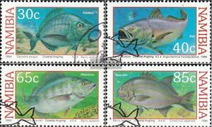 Stamps Supply Namibia 764-767 Fine Used Cancelled 1994 Küstenangeln Good Companions For Children As Well As Adults