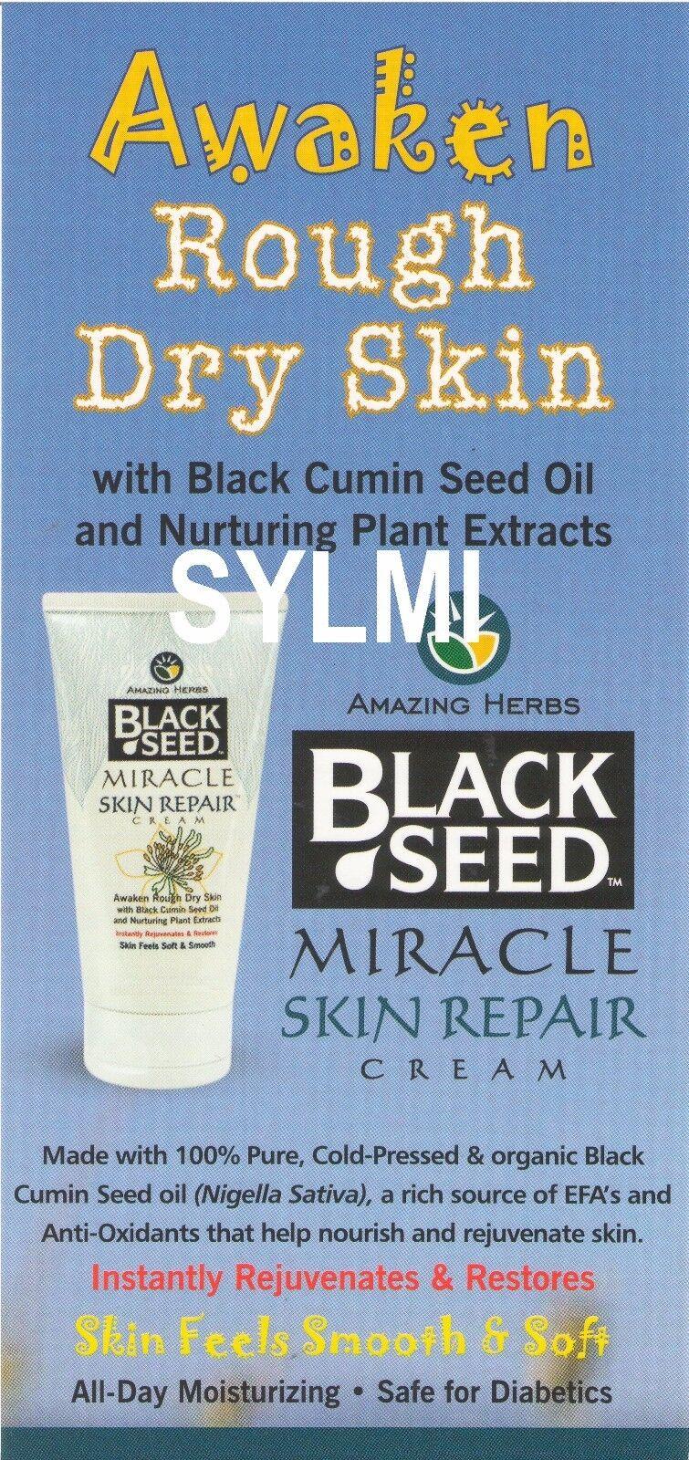 Black Seed Miracle Skin Repair Cream 6 Ounce 6oz