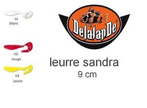 LOT-DE-3-LEURRES-SOUPLE-DELALANDE-SANDRA-9CM-lt-lt-lt-PROMO-gt-gt-gt