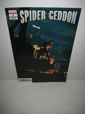 PAREL SPIDER-MAN NOIR VARIANT SPIDER-GEDDON #1 OF 5