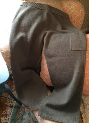 au taille L dessus cheville Pantalon Sport tricot John St élastique avec foncé à poche Sz Taupe en de la q68y1wv