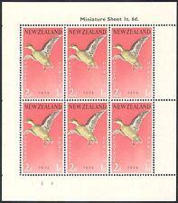 New Zealand 1959 Birds/Health/Welfare Fund/Teal/Nature/Ducks 6v shtlt (b768)