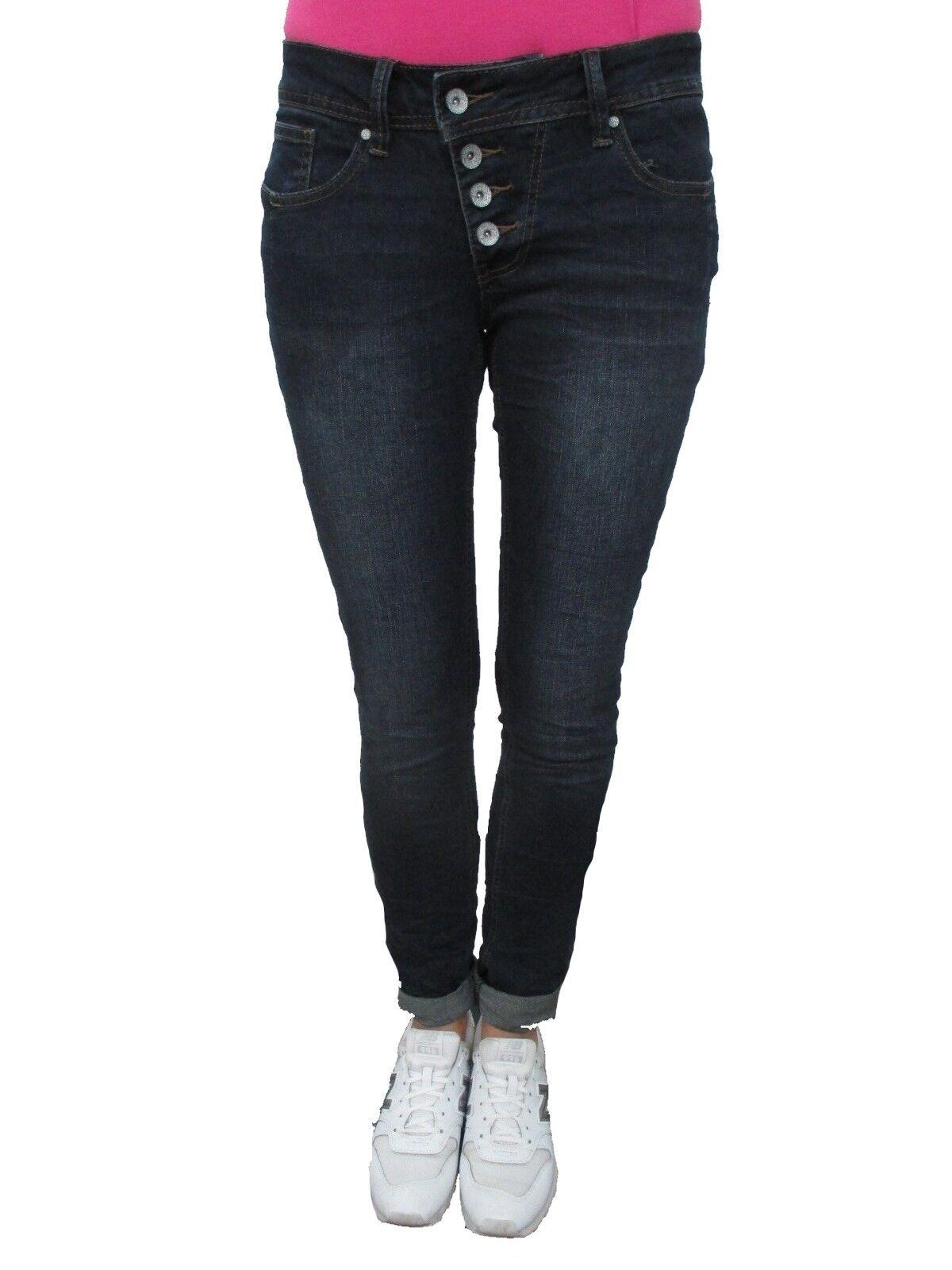 Buena Vista Damen Jeans Hose Hose Hose Malibu M Dark Blau b1e155